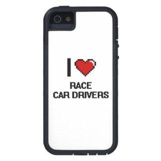 Amo conductores de coche de carreras iPhone 5 Case-Mate cárcasas