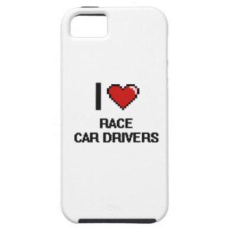 Amo conductores de coche de carreras iPhone 5 Case-Mate funda