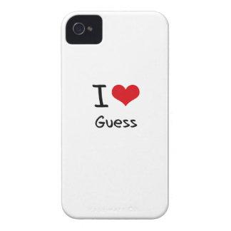 Amo conjetura iPhone 4 carcasa