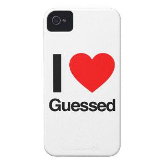 amo conjeturado Case-Mate iPhone 4 funda