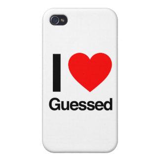 amo conjeturado iPhone 4 cárcasa