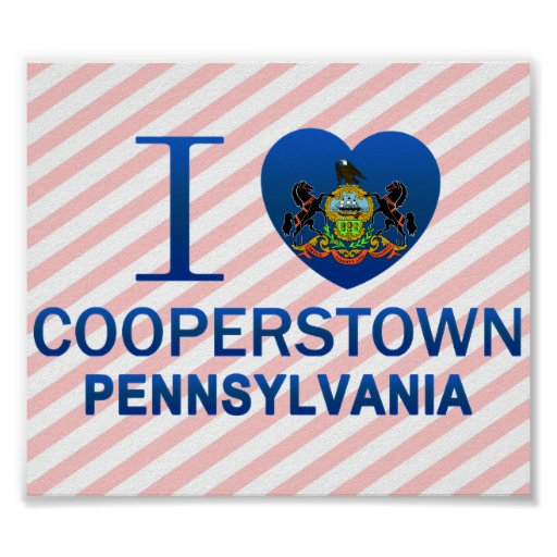 Amo Cooperstown, PA Posters