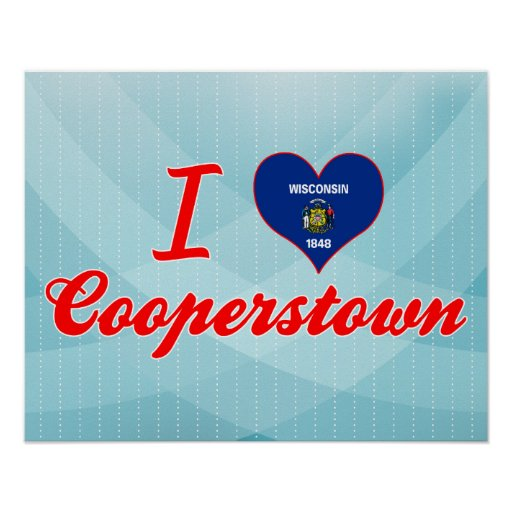 Amo Cooperstown, Wisconsin Posters