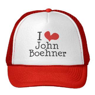 Amo (corazón) a Juan Boehner Gorros