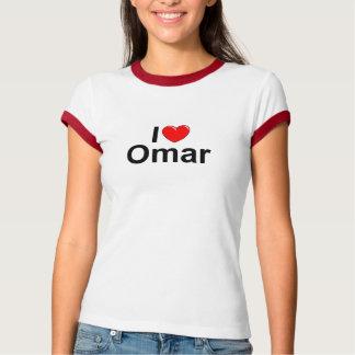 Amo (corazón) a Omar Camisetas
