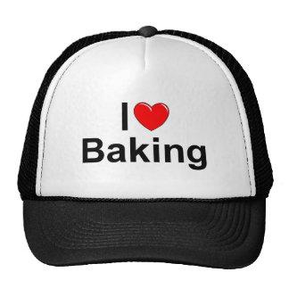Amo (corazón) cocer gorra