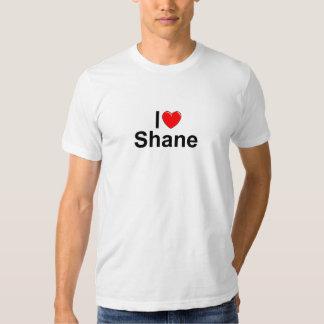 Amo (corazón) Shane Camiseta