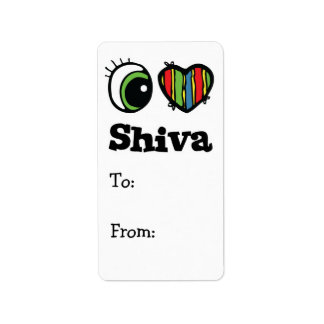 Amo (corazón) Shiva Etiquetas De Dirección