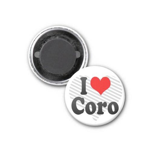 Amo Coro, Venezuela Imán De Nevera