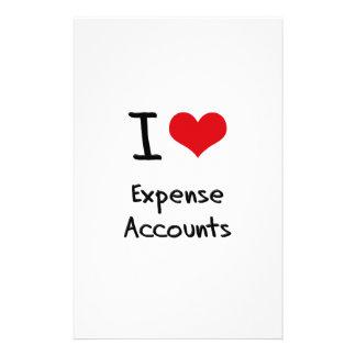 Amo cuentas de costo papeleria