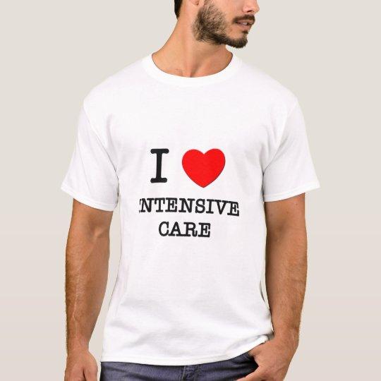 Amo cuidados intensivos camiseta