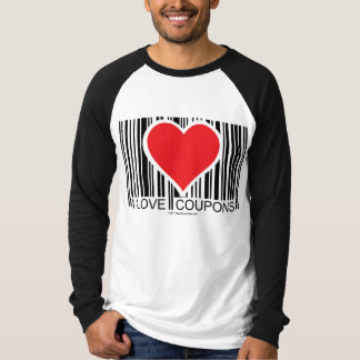 Amo cupones camisetas