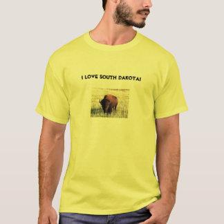 ¡Amo Dakota del Sur! Camiseta