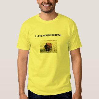 ¡Amo Dakota del Sur! Camisetas