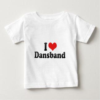 Amo Dansband Camiseta De Bebé