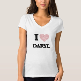 Amo Daryl (el corazón hecho de palabras del amor) Camiseta
