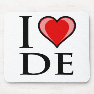 Amo DE - Delaware Alfombrilla De Ratón