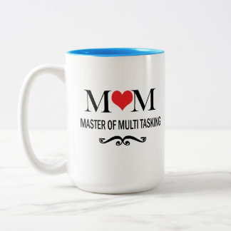 Amo de la mamá de la taza de café multi del día de