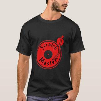 Amo del rasguño camiseta