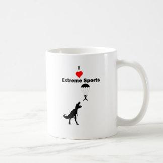 Amo deportes extremos taza de café