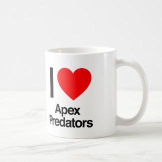 amo depredadores del ápice taza de café