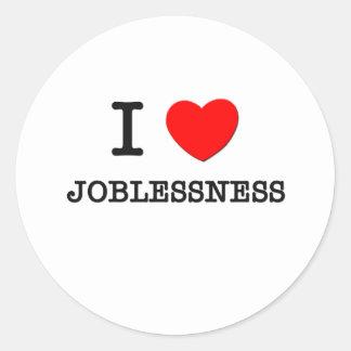 Amo desempleo etiqueta