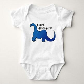 ¡Amo dinosaurios! Body Para Bebé