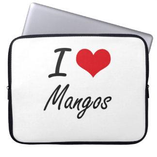 Amo diseño artístico de los mangos manga portátil