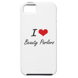 Amo diseño artístico de los salones de belleza iPhone 5 cárcasas