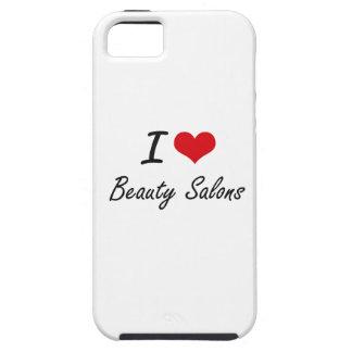 Amo diseño artístico de los salones de belleza iPhone 5 Case-Mate carcasa
