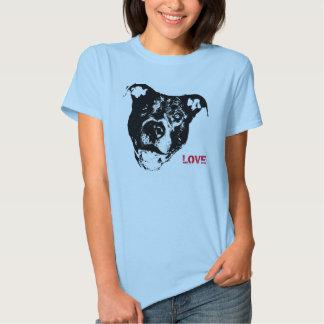 Amo diseño del logotipo de Pitbulls - de moda Camiseta