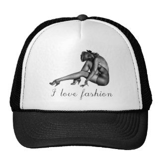 ¡Amo diseño del vintage de la moda! Gorros