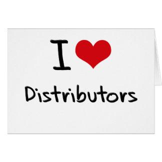 Amo distribuidores tarjeta