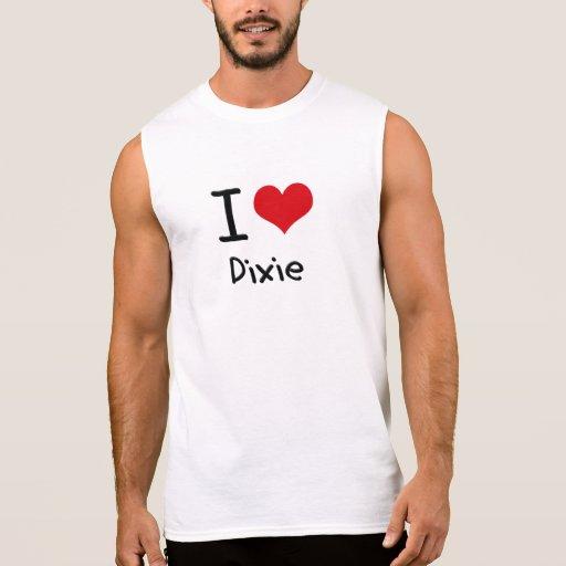 Amo Dixie Camisetas Sin Mangas