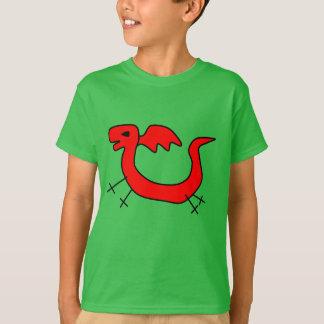 ¡Amo dragones! La camiseta de los niños