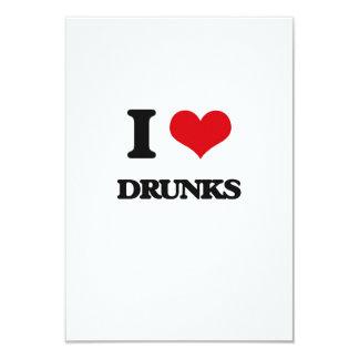 Amo Drunks Invitación 8,9 X 12,7 Cm