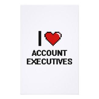 Amo ejecutivos de cuenta papelería