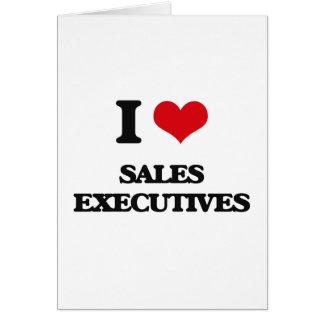 Amo ejecutivos de ventas felicitacion
