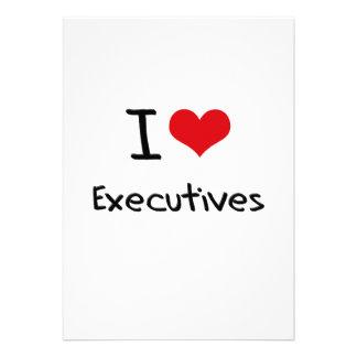 Amo ejecutivos anuncio personalizado