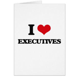 Amo ejecutivos felicitación
