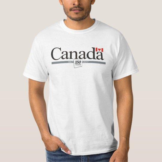 Amo el 150o aniversario de Canadá Camiseta