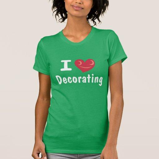 Amo el adornar de la camisa