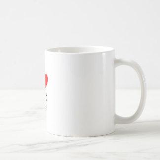 Amo el aire frígido taza clásica