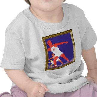 Amo el atletismo camisetas