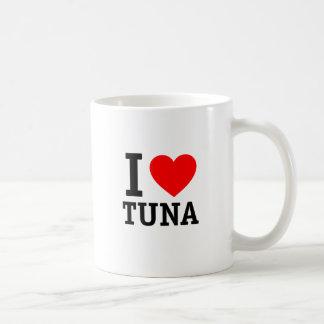 Amo el atún taza de café
