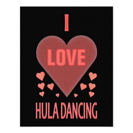 Amo el baile de Hula Comunicados Personales