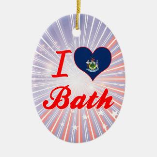 Amo el baño Maine Ornato