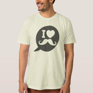 Amo el bigote - burbuja camiseta