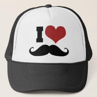 Amo el bigote gorra de camionero