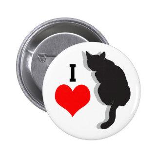 Amo el botón de los gatos